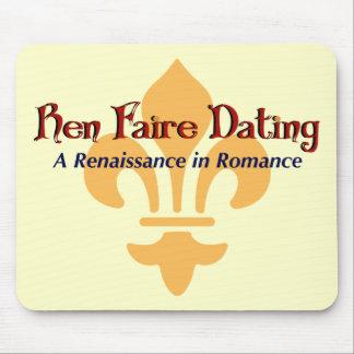 Ren Faire Dating.com Fluer De Lis Mouse Pad