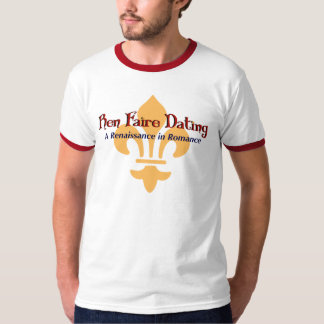 Ren Faire Dating.com Fluer De Lis T-Shirt