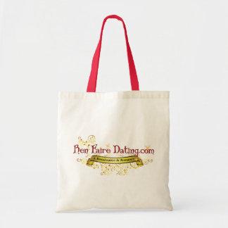 Ren Faire Dating.com Swirls Budget Tote Bag