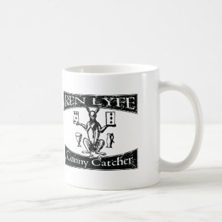 Ren Lyfe: Distressed Robert Greene Conny-Catcher Coffee Mug