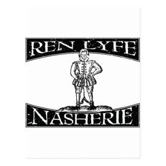 Ren Lyfe: Thomas Nashe in Chains Postcard
