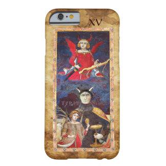 RENACIMIENTO ANTIGUO TAROTS 15/EL DIABLO FUNDA DE iPhone 6 BARELY THERE