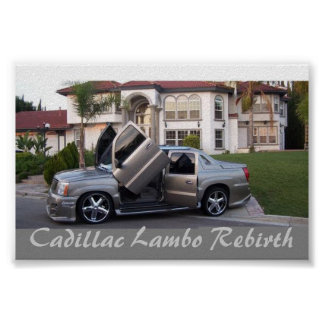 Renacimiento de Cadillac Posters