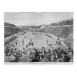 Renacimiento de los Juegos Olímpicos en Atenas Tarjeta Postal