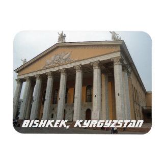 Renacimiento griego Architectre - Kirguistán de Rectangle Magnet