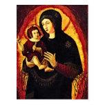 Renacimiento Madonna Tarjetas Postales