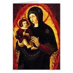 Renacimiento Madonna Tarjetón