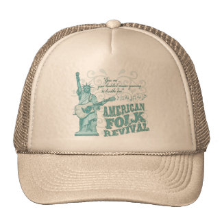 Renacimiento popular americano gorra
