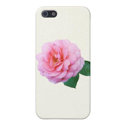 Renacimiento rosado subió iPhone 5 carcasas