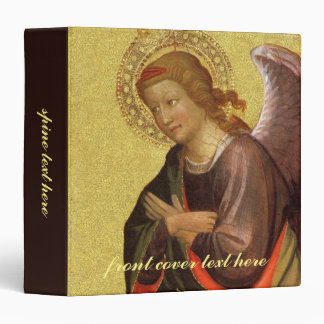 Renaissance Angel by Master of the Bambino Vispo 3 Ring Binder