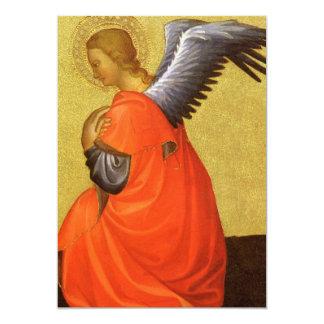 Renaissance Angel by Master of the Bambino Vispo 5x7 Paper Invitation Card