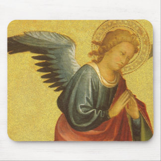 Renaissance Angel by Master of the Bambino Vispo Mouse Pad