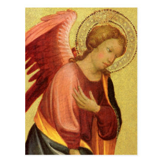 Renaissance Angel by Master of the Bambino Vispo Postcard