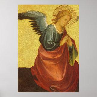 Renaissance Angel by Master of the Bambino Vispo Print
