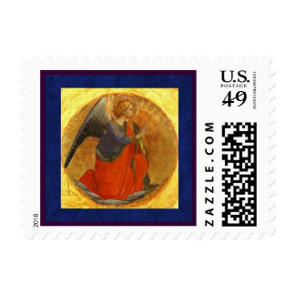 Renaissance Angel of the Annunciation Postage