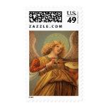 Renaissance Angel Playing Violin Melozzo da Forli Stamps