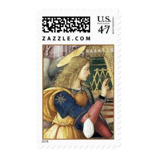 Renaissance Angel Postage Stamps Pinturicchio M