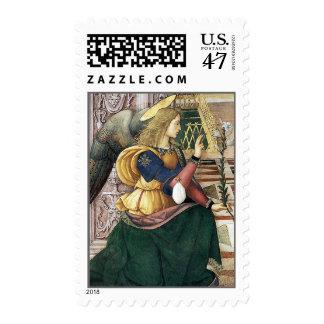Renaissance Angel Postage Stamps Pinturicchio Med