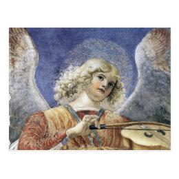Renaissance Angel Postcard Post Card Melozzo