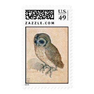 RENAISSANCE ANIMAL DRAWINGS / THE OWL POSTAGE