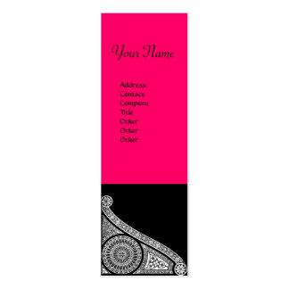 RENAISSANCE ARCHITECT Architecture Pink Black Business Cards