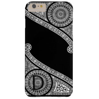 RENAISSANCE ARCHITECT Black White  Monogram Barely There iPhone 6 Plus Case