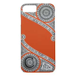 RENAISSANCE ARCHITECT Red Orange Monogram iPhone 8/7 Case