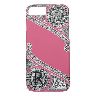 RENAISSANCE ARCHITECT Strawberry Ice Pink Monogram iPhone 8/7 Case