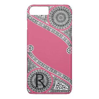 RENAISSANCE ARCHITECT Strawberry Ice Pink Monogram iPhone 8 Plus/7 Plus Case