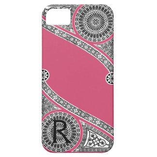 RENAISSANCE ARCHITECT Strawberry Ice Pink Monogram iPhone SE/5/5s Case