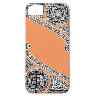 RENAISSANCE ARCHITECT Tangerine Orange Monogram iPhone SE/5/5s Case