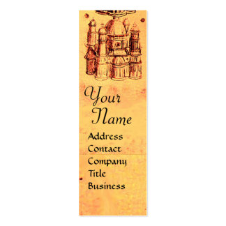 RENAISSANCE ARCHITECTURAL PROJECT,ARCHITECT Double-Sided MINI BUSINESS CARDS (Pack OF 20)