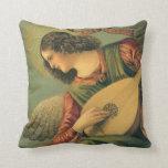 Renaissance Art, Angel Musician, Melozzo da Forli Pillow