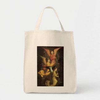 Renaissance Art, Choir of Angels by Simon Marmion Tote Bag