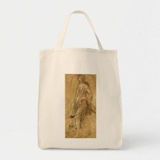 Renaissance Art, Dancing Muse by Andrea Mantegna Tote Bag
