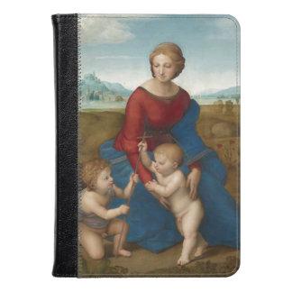 Renaissance Art Madonna in Meadow Kindle Case