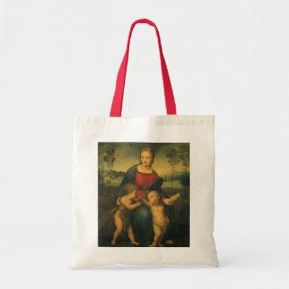 Renaissance Art, Madonna of the Goldfinch, Raphael Tote Bag