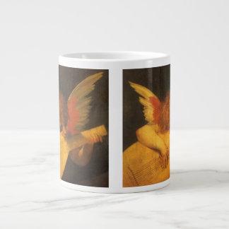 Renaissance Art Musician Angel by Rosso Fiorentino Giant Coffee Mug