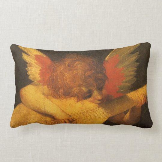 Renaissance Art Musician Angel by Rosso Fiorentino Lumbar Pillow