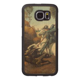 Renaissance Art Saint George and Dragon Wood Phone Case