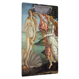 Renaissance Art, The Birth of Venus by Botticelli Clipboard