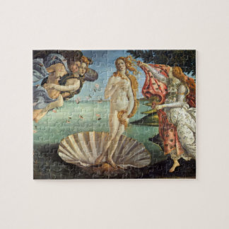 Renaissance Art, The Birth of Venus by Botticelli Jigsaw Puzzle