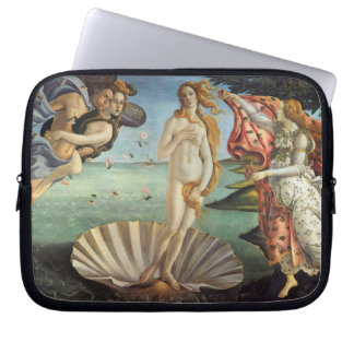 Renaissance Art, The Birth of Venus by Botticelli Laptop Sleeve