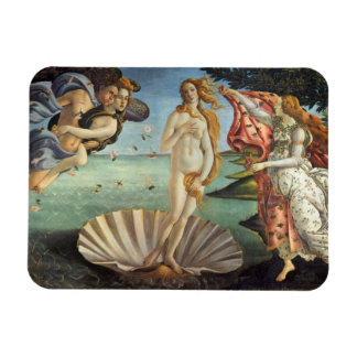 Renaissance Art, The Birth of Venus by Botticelli Magnet