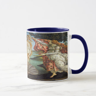 Renaissance Art, The Birth of Venus by Botticelli Mug