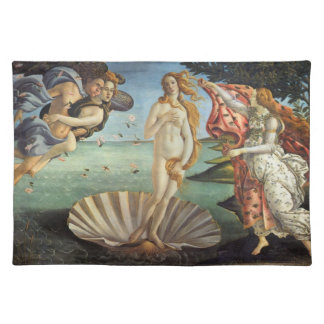 Renaissance Art, The Birth of Venus by Botticelli Placemat