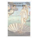 Renaissance Art, The Birth of Venus by Botticelli Stationery