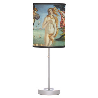 Renaissance Art, The Birth of Venus by Botticelli Table Lamp