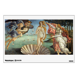 Renaissance Art, The Birth of Venus by Botticelli Wall Decal