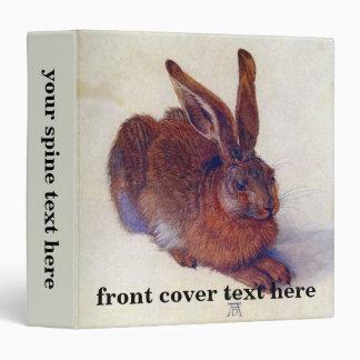 Renaissance Art, Young Hare by Albrecht Durer Binder